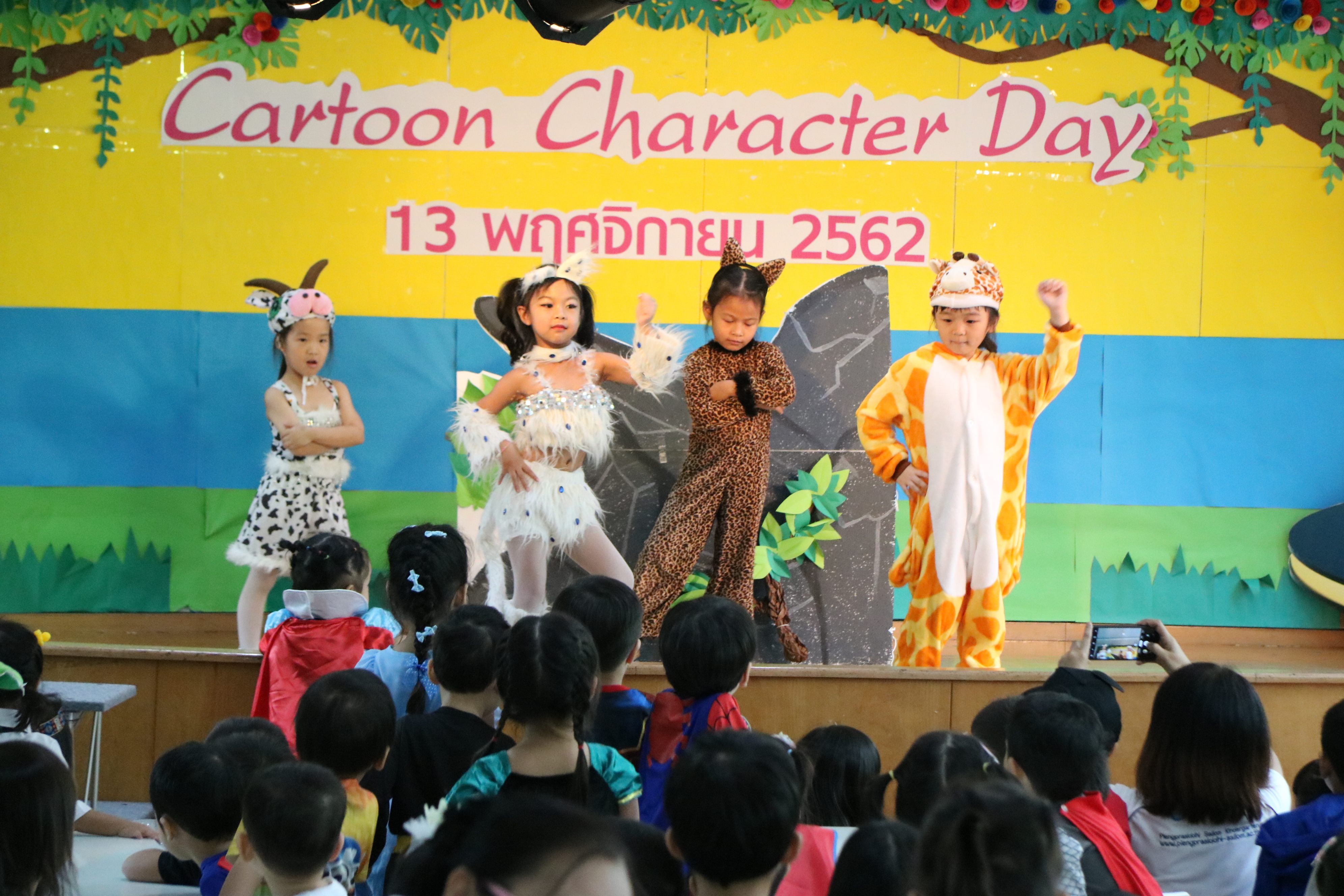 Cartoon Character Day 2019